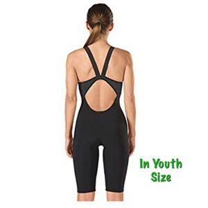 Speedo Powerplus Youth Kneeskin Swim Bodysuit